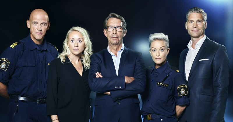 Hasse Aro med kollegor i Efterlyst på TV3 Play Viafree streaming