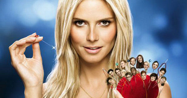 "Heidi Klum i ""Project Runway"" i TV3 Play"