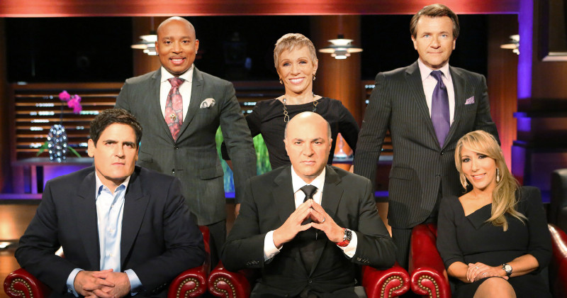 "Medverkande i serien ""Shark Tank"" i TV4 Play"