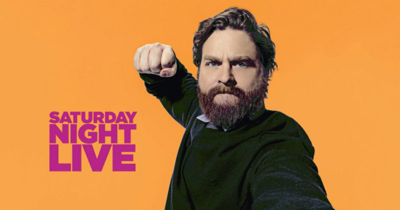 "Zach Galifianakis i ""Saturday Night Live"" i Kanal 9 Play"