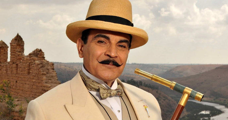 David Suchet i kriminalserien Poirot i TV4 Play