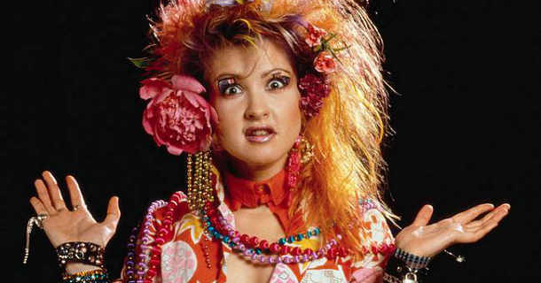 "Cyndi Lauper i musikserien ""Eighties"" i SVT Play"