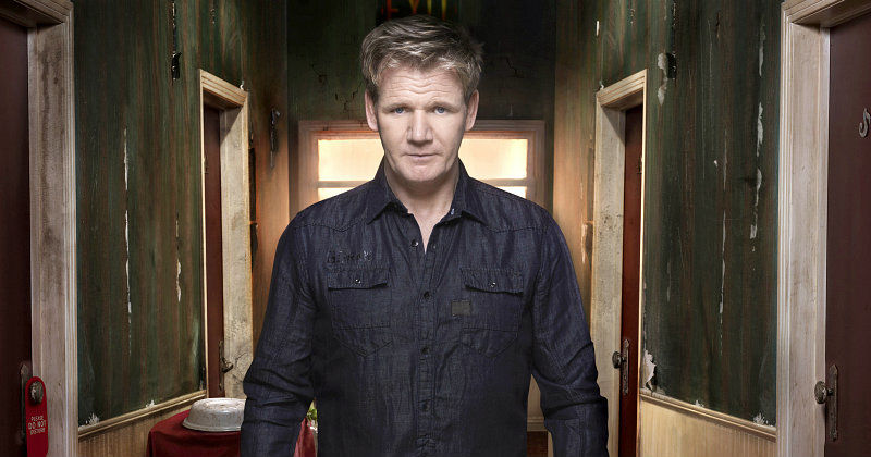 "Gordon Ramsay i ""Gordon's Hotel Hell"" i Kanal 5 Play"