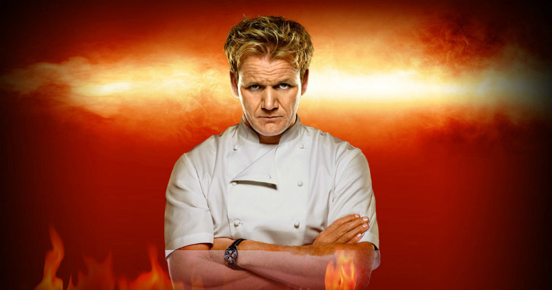 "Gordon Ramsay i ""Hell´s Kitchen USA"" i TV3 Play"