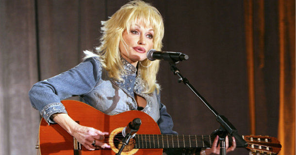 "Dolly Parton i dokumentären ""Countrymusikens änglar"" i SVT Play"