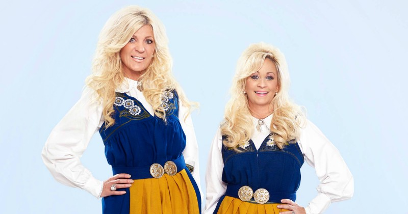 "Maria och Mindy i realityserien ""Maria & Mindy - Best Friends Forever"" i TV3 Play"
