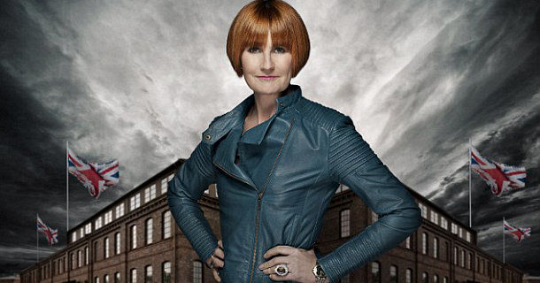 "Mary Portas i realityserien ""Mary's Bottom Line"" i TV8 Play"