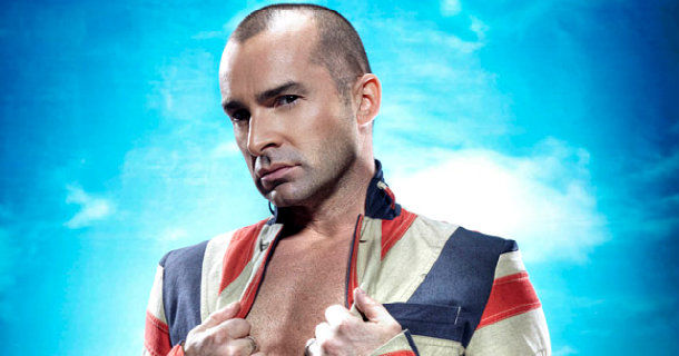 Louie Spence i tv-serien showbusiness i Kanal 5 Play
