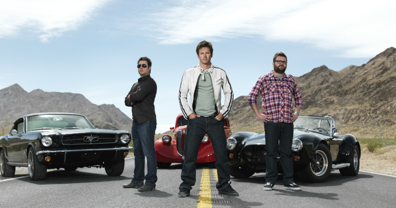 "Programledartrion i ""Top Gear USA"" i Kanal 9 Play"