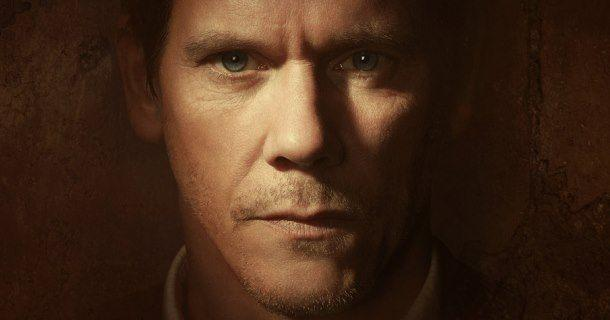 John Hardy (Kevin Bacon) i The Following i TV4 Play.