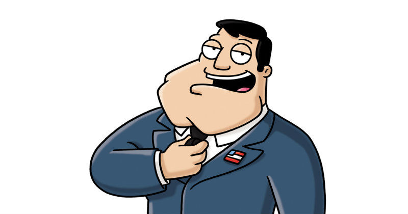 """Stan Smith i """"American Dad"""" i TV6 Play"""