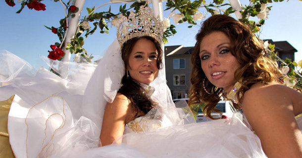 "Medverkande brudar i ""My Big Fat American Gypsy Wedding"" i Kanal 5 Play"