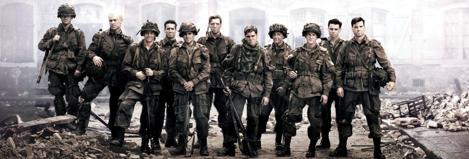 "Easy Company i dramaserien ""Band of Brothers"" i TV10 Play"