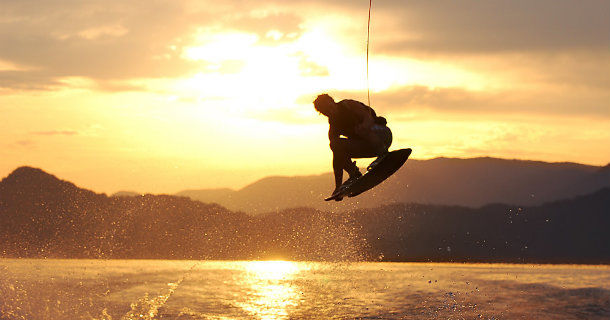 Wakeboardåkare i magasinet Ride i TV4 Play