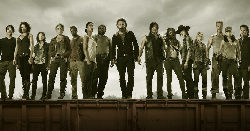 "Huvudpersoner i vampyrserien ""The Walking Dead"" i Kanal 9 Play"