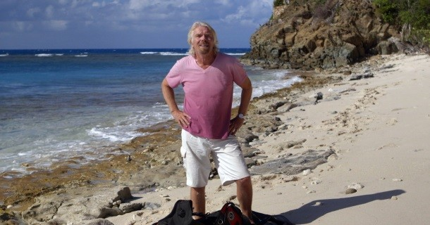 "Sir Richard Branson i ""Mission: Save the ocean"" i TV4 Play"