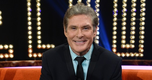 "David Hasselhoff i ""Hasselhoff - en svensk talkshow"" i TV3 Play"