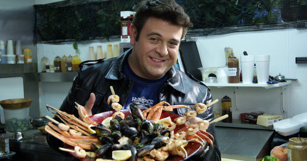 "Adam Richman i ""Man v. Food Nation"" i TV10 Play"