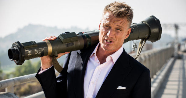 "Dolph Lundgren i serien ""Race to the Scene"" i TV 6 Play"