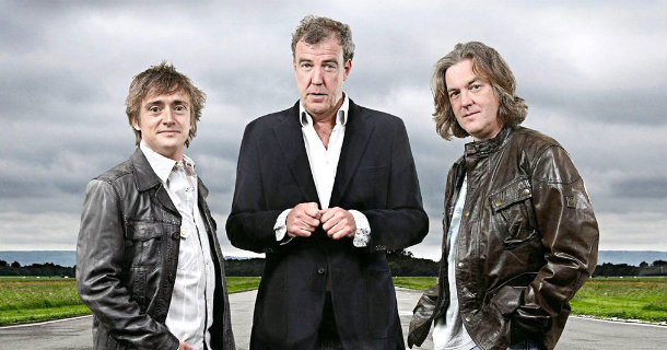 "Programledare i motormagasinet ""Top Gear"" i Kanal 9 Play"