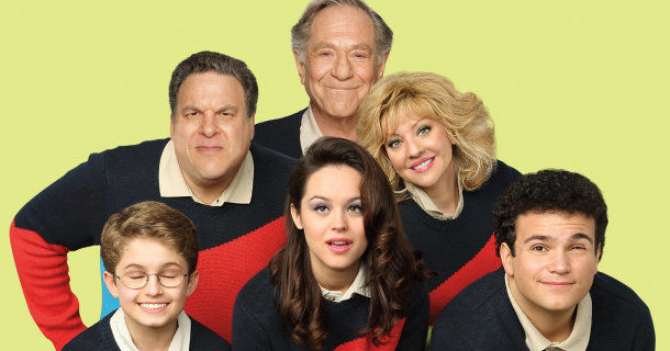 "Skådespelare i komediserien ""The Goldbergs"" i TV3 Play"