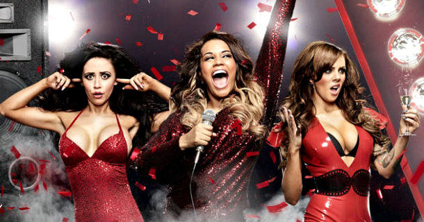 "Medverkande tjejer i realityserien ""The Valleys"" i TV3 Play"