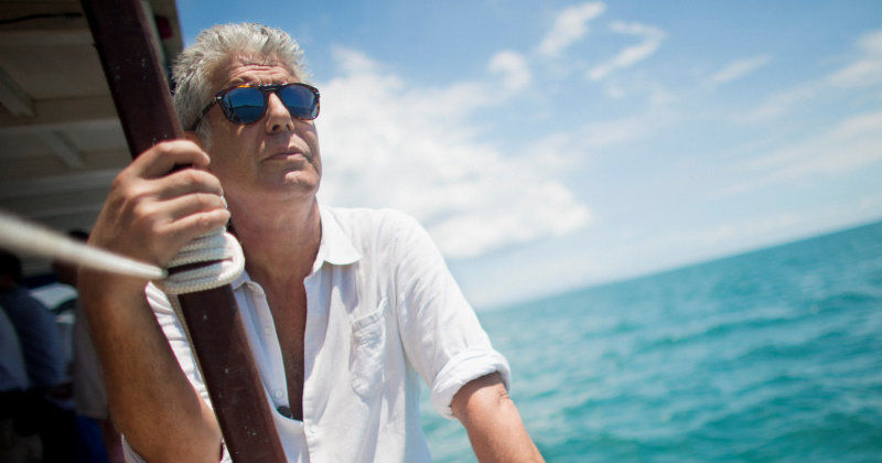 "Anthony Bourdain i ""Anthony Bourdain på okända platser"" i UR Play"