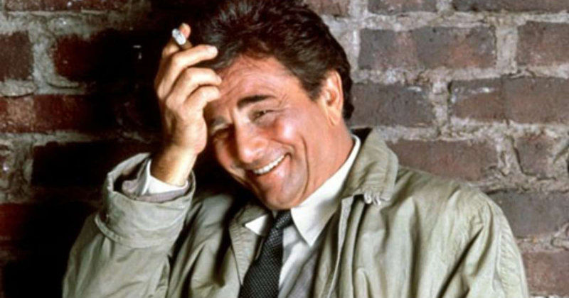 Peter Falk som Columbo i SVT Play