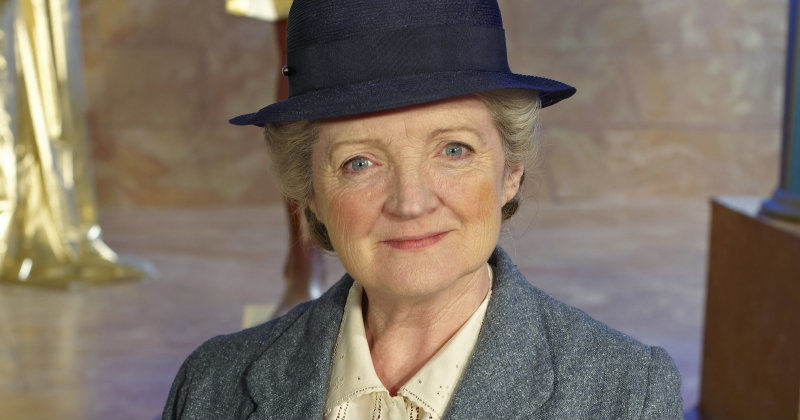 "Miss Marple i kriminalserien ""Miss Marple"" TV4 Play"