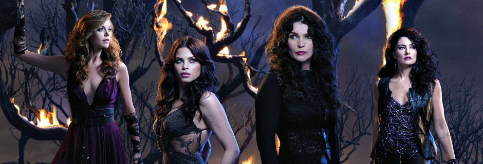 "Häxor i serien ""Witches of East End"" i TV3 Play"