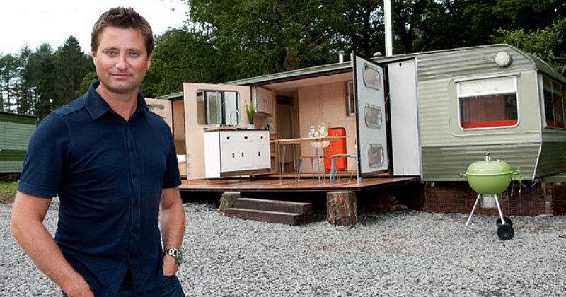 "George Clarke i tv-serien ""Mitt galna hem"" i TV4 Play"