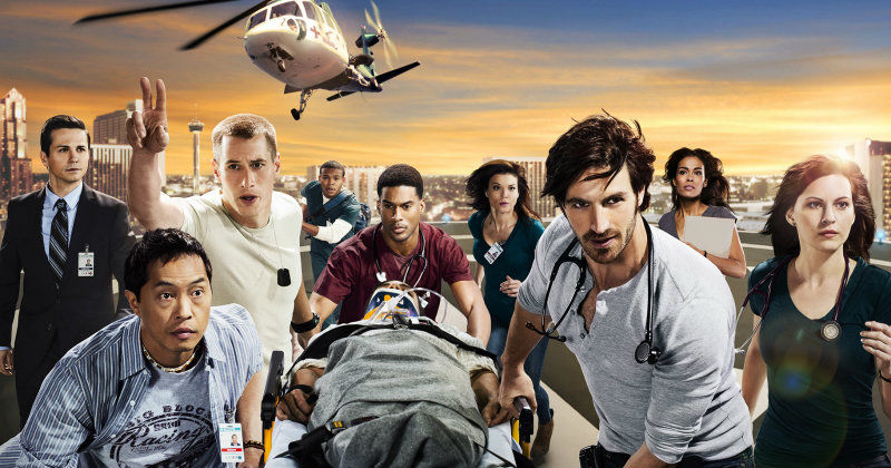 "Skådespelare i dramaserien ""The Night Shift"" i TV3 Play"