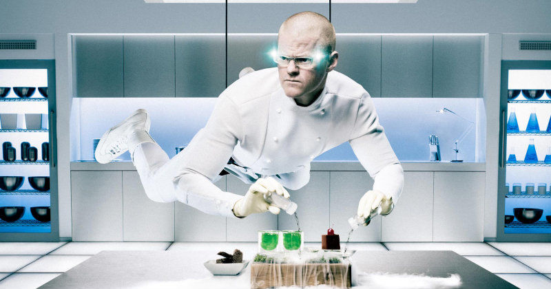 "Heston Blumentahl i ""Heston´s Mission Impossible"" i TV8 Play"