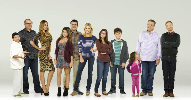 "Skådespelare i tv-serien ""Modern Family"" i TV4 Play"
