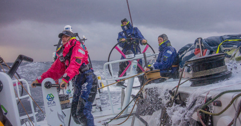 "Team SCA tränar inför Volvo Ocean Race i dokumentären ""No Ordinary Women"" i TV3 Play"