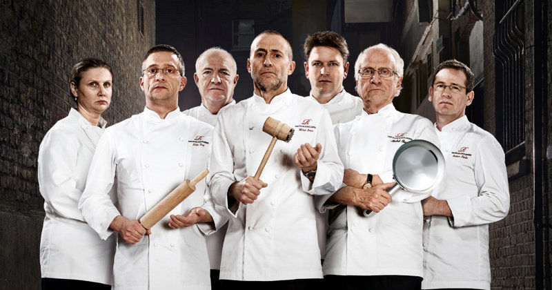 "Medverkande i ""The Roux Masterclass"" i TV8 Play"