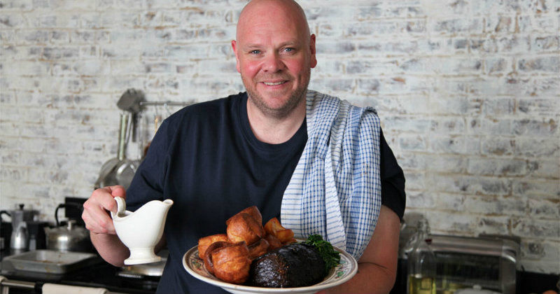 "Tom Kerridge i matlagningsserien ""Toms pubmat"" i TV8 Play"