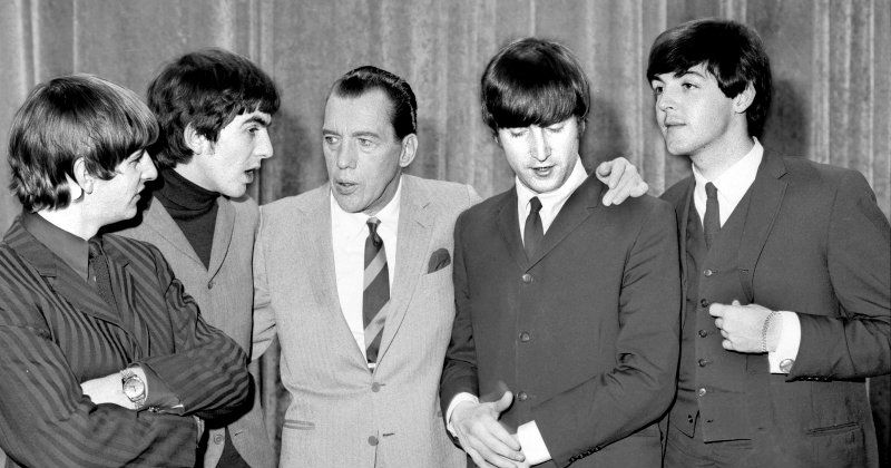 "Ed Sullivan och The Beatles i dokumentärserien ""Sextiotalets Amerika"" i TV4 Play"