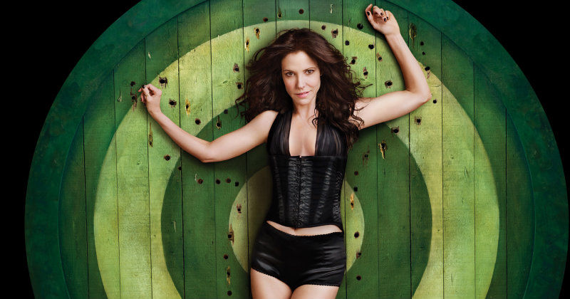 Mary Louise Parker i dramaserien Weeds i TV6 Play