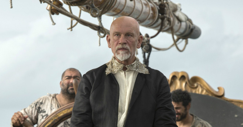 John Malcovich i tv-serien Crossbones i TV6 Play