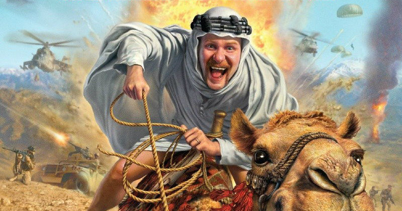 "Filmaren Morgan Spurlock i ""Where in the World is Osama bin Laden"" i UR Play"