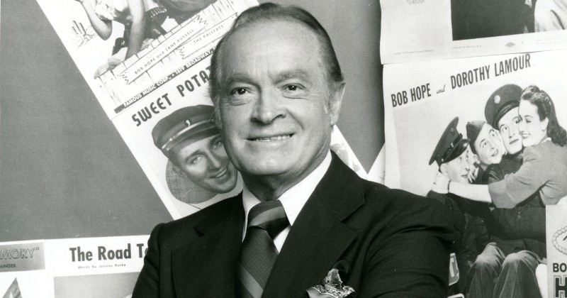 Streama Komiska genier Bob Hope på SVT Play