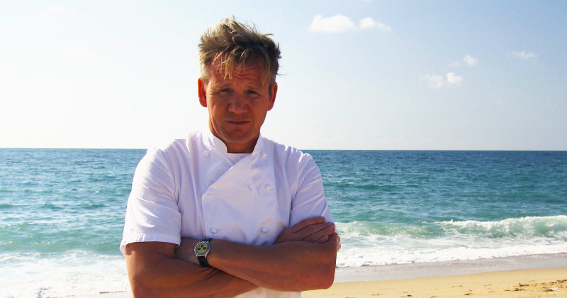 "Gordon Ramsay i ""Gordon's Costa del Nightmares"" i Kanal 5 Play"