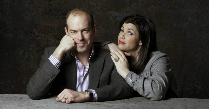 Phil Spencer and Kirstie Allsopp i Husjägarna i TV4 Play