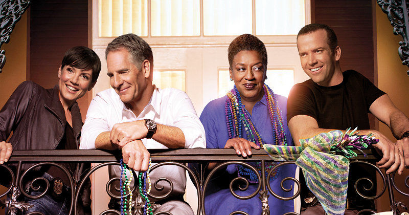 NCIS-teamet i NCIS: New Orleans i TV3 Play