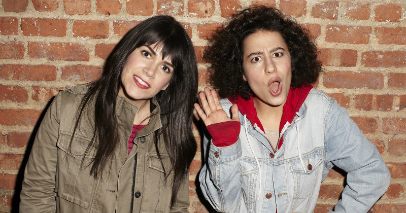 "Ilana Glazer och Abbi Jacobson i komediserien ""Broad City"" i TV3 Play"