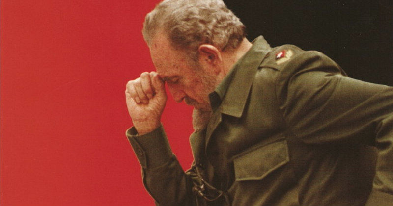 Fidel Castro i dokumentären Looking for Fidel i UR Play
