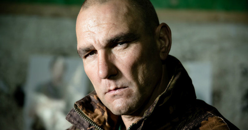 "Vinnie Jones i dpokumentärserien ""Vinnie Jones i Ryssland"" i TV10 Play"