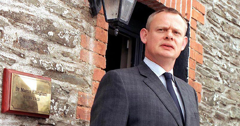 Doc Martin i tv-serien i TV8 Play