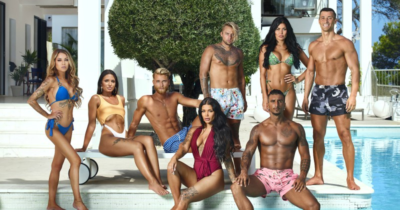 Medverkande i Ex on the beach 2018 på Kanal 11 Dplay streaming